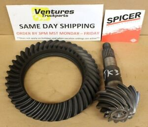 Jeep Wrangler Jk Rear Dana 44 Ring And Pinion 3 73 Ratio Oem Dana Spicer