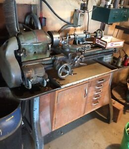 Vintage South Bend Lathe Model A With Tooling Accessories More