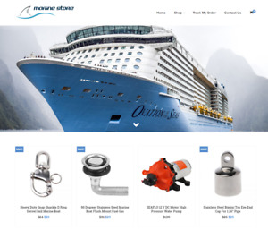 Marine Boat Turnkey Website Business For Sale Profitable Dropshipping