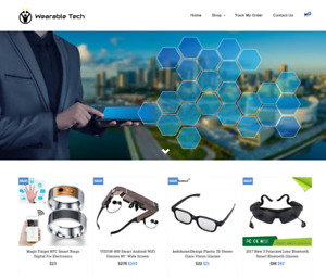 Wearable Tech Turnkey Website Business For Sale Profitable Dropshipping
