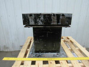 Work Bed Table Cast Iron T slot Surface Plate 22 x 20 x5 t 23 1 2 High