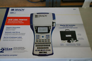 Brady Bmp41 Handheld Label Printer 300 Dpi W Rechargeable Battery