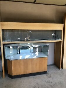 Front Oak Display Show Case Retail Jewelry Store Fixture Locks