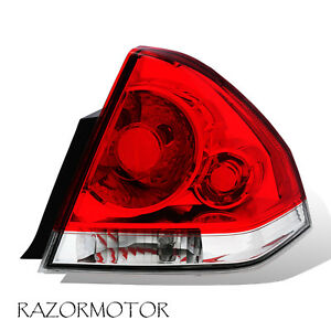 2006 2013 Replacement Passenger Tail Light For Chevy Impala W Bulb Harness