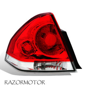 2006 2013 Replacement Driver Side Tail Light For Chevy Impala W bulb Harness
