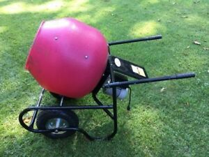 Northern Industrial Portable Electric Cement Mixer local Pickup 3 5 Cu Ft