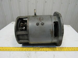 Clark 2774337 Electric Drive Forklift Motor From A Model Ecs30 36 48vdc