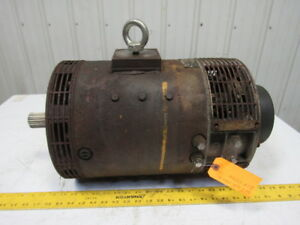 Hyster 325744 Electric Drive Forklift Motor From A Model E50xl 32