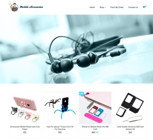 Mobile Accessories Turnkey Website Business For Sale Profitable Dropshipping