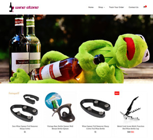 Established Wine Turnkey Website Business For Sale Profitable Dropshipping
