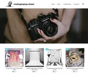 Photography Turnkey Website Business For Sale Profitable Dropshipping