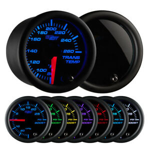 Glowshift Tinted 7 Color Transmission Temperature Gauge Gs T712