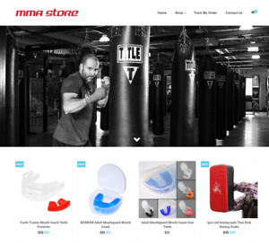 Established Mma Turnkey Website Business For Sale Profitable Dropshipping