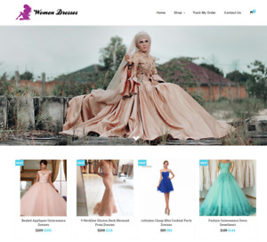 Women Dresses Turnkey Website Business For Sale Profitable Dropshipping