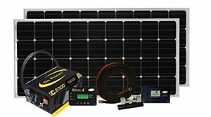 Go Power Solar Elite Complete Solar And Inverter System With 320 Watts Of Solar