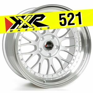 Xxr 521 18x10 5x114 3 25 Hyper Silver Wheels Set Of 4