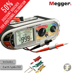 Megger Mft1730 Multifunction Installation Tester With Ldmesk Earth Spike Kit