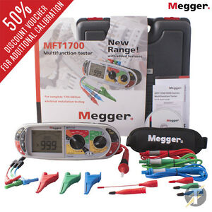 Megger Mft1721 18th Edition Multifunction Installation Tester Plus Calibration