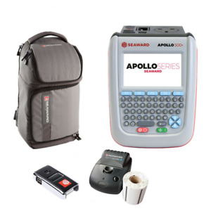 Seaward Apollo 500 Pat Tester Opt Pro Bt Printer Scanner Software Bag
