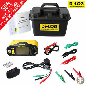 Di log Dl9118 Multifunction Installation Tester Calibrated W accessories