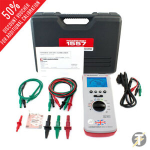 Seaward Powertest 1557 Best Of British Multifunction Installation Tester Kit