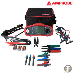 Amprobe Proinstall 75 uk Multifunction Installation Tester With Case And Leads