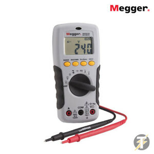 Megger Avo210 Autoranging True Rms Digital Multimeter With Probe Leads