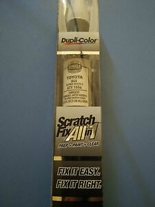 Toyota 040 Super White Ii Dupli Color All In 1 Scratch Touchup Paint Aty1556