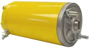 New Snow Plow Motor For Meyer 3 12v M0551046a Mm48826 Mgl4105 46 2001 Yellow