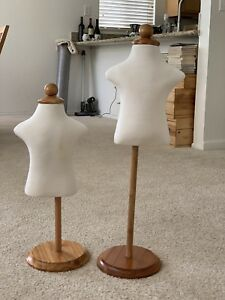 2 X Children child kid Mannequin 1 2 Years Old High Quality Store Display Form