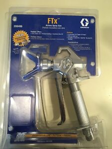 Graco Ftx 4 Finger Airless Spray Gun 288486 Racx Tip Guard Oneseal Graco hose