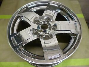 2005 2007 Jeep Grand Cherokee 17 Inch Chrome Alloy Wheel Hollander 9054