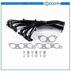 3 2 Coated Stainless Racing Header Exhaust Manifold For 01 05 Lexus Is300 Jce10