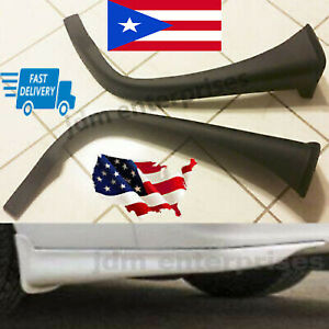 Fits Toyota Corolla 1998 2002 Rear Valance Fiber Glass 2pc 98 99 00 01 02