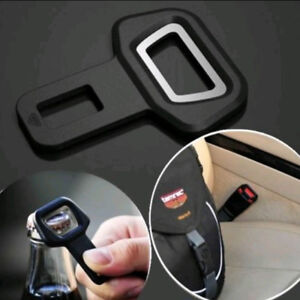 1x Car Vehicle Safety Abs Seat Belt Buckle Insert Warning Alarm Stopper Opener
