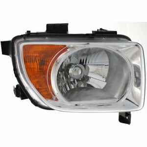 Headlight For 2003 2006 Honda Element Right Halogen Clear Lens With Bulb