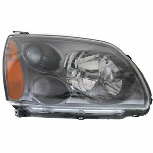 Headlight For 2004 2009 Mitsubishi Galant Right Halogen Clear Lens With Bulb