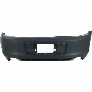 Bumper Cover For 2013 2014 Ford Mustang Gt Shelby Gt500 Rear Plastic Primed