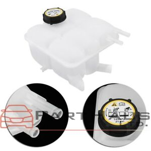 Radiator Overflow Water Recovery Coolant Reservoir Tank W Cap For 04 12 Mazda 3