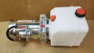 12 V Dc Hydraulic Power Unit Pumping Station 2500 Psi
