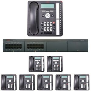 Avaya Ip Office Phone System With 8 Phones Essential Edition