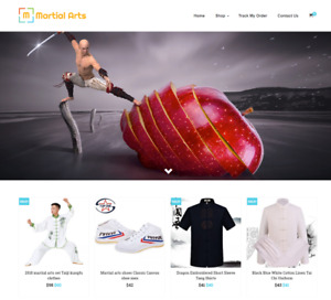 Martial Arts Turnkey Website Business For Sale Profitable Dropshipping
