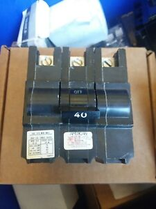 Federal Pacific Fpe Na340 3p40 Stab Lok Circuit Breaker new