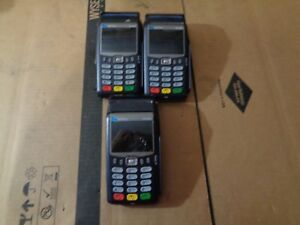 Lot Of 3 Verifone Vx675 3g Wireless Handheld Payment Terminal Pos