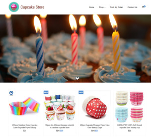 Established Cupcakes Turnkey Website Business For Sale Profitable Dropshipping