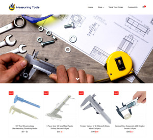 Measuring Tools Turnkey Website Business For Sale Profitable Dropshipping