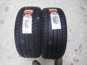 2 New 225 40 18 92h Pirelli Pzero Nero Tires 0318