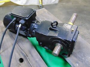 Nord 1 Hp Electric Motor And Gearbox Speed Reducer 11 Rpm 208v 360v 1 5