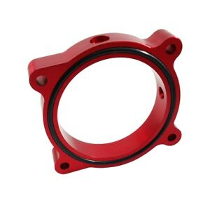 Torque Solution Throttle Body Spacer red Fits Ford Mustang Gt 5 0l 11 16