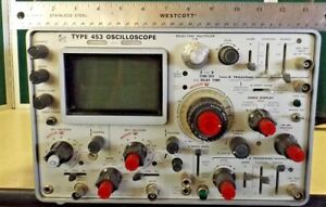 Tektronix Two Channel Oscilloscope Type 453 For Parts Or Refurbish
